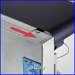 Top-grade Conveyor 110V Powered Rubber PVC Belt 59''x 7.8'' New Best Price Hot