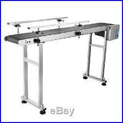 Top-grade Conveyor 110V Powered Rubber PVC Belt 59x 7.8 Best Price Hot