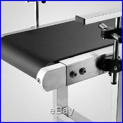 Top-grade Conveyor 110V Powered Rubber PVC Belt 59x 7.8 Best Price New