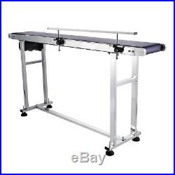 Top-grade Power Slider Bed PVC Belt Electric Conveyor Machine 59''X 7.8'