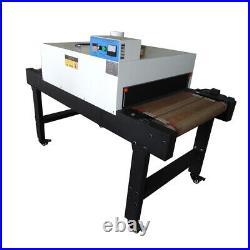 US Stock 220V 4800W T-shirt Conveyor Tunnel Dryer Belt for Screen Printing