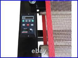 US T-shirt Conveyor Tunnel Dryer 5.9ft Long x 25.6'' Belt for Screen Printing