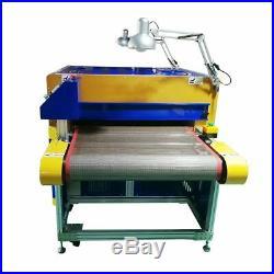 USA! 220V 8000W DTG Printer Conveyor Tunnel Dryer 7.2ft Long x 31.5 Wide Belt
