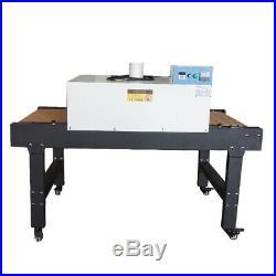 USA 220V T-shirt Screen Printing Conveyor Tunnel Dryer 5.9ft. Long x 25.6 Belt