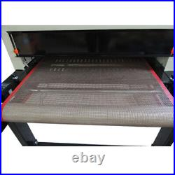 USA Pickup T-shirt Conveyor Tunnel Dryer 25.6x39 Belt 220V SCREENPRINTING DRYER