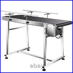 VEVOR Belt Conveyor PVC Conveyor Belt 47''x20'' Industrial Motorized Conveyor