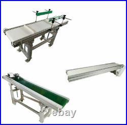 Variety Width & Length Belt Conveyor ElectricTransport Machine Speed Adjustable