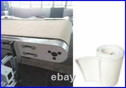White High Temperature Resistant Conveyor Belt Conveyor Accessories NEW