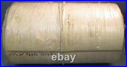 White PVC Conveyor Belt 39' Length 24 Width With Rubber Cleating NWOB