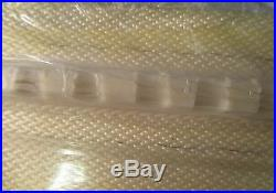 White PVC Conveyor Belt 56' Length 25-1/2 Width With Rubber Cleating NWOB