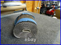 Wire Conveyor Belt, Stainless Steel, 11ft x 4ft, Flat Flex, Food Grade