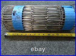 Wire Conveyor Belt Stainless Steel, 15in X 10ft, Flat Flex, FDA Food Grade