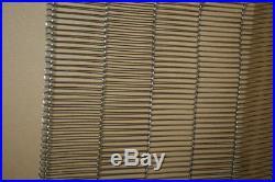 Wire conveyor belt stainless steel 12 in X 89 ft Wire Belt Co Flatflex