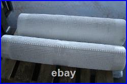 (qty Of 2) White Flat Conveyor Belts (1st) 16' And (2nd) 12' Both X42wide