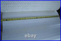 (qty Of 4)white Flat Conveyor Belts 12'. 6 X 25 5/8